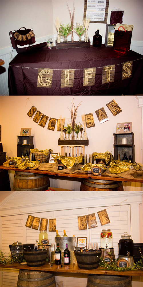Rustic Mens 60th Birthday Party