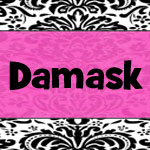 Damask Girl Baby Shower