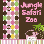 Jungle, Safari, Zoo - Girl