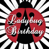 Ladybug Garden Birthday Party