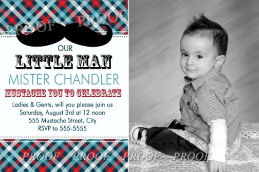 Mustache little man party supplies birthday invitations filmwisefo