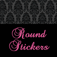 Round Envelope or Favor Stickers