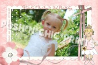 Ballerina Ballet Birthday Invitations