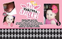 Little Angel Birthday Banner