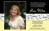 Yellow Swirl Bridal Shower Photo Invitation