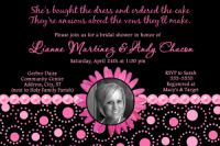 Gerber Daisy Bridal Shower invitation