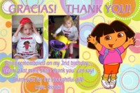 Dora Gracias Thank You Card