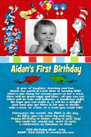 Boy First Birthday-26-Boy First Birthday, First, One, 1st, Dr. Seuss, Dr Seuss