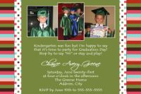 Preschool Graduation Card Invitation