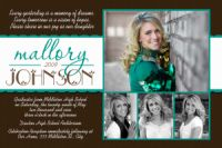 2011 High School Graduation Invitation Card