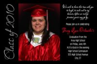 High School Graduation Invitation