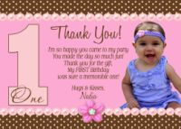 Birthday Thank You Cards - Gratitude